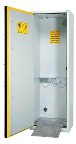 Armario de seguridad para gases comprimidos bc 650 gs herascientific - Armario calentador gas exterior ...