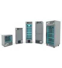REFRIGERADORES de Laboratorio Serie X-COLD TN +2º/+8ºC (100, 200, 300 y 500 lt.)