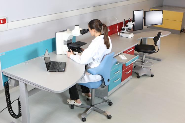 mesa para microscopio ergon mica mew