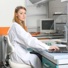 Sillas de laboratorio ergonómicas