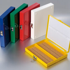 Cajas de almacenaje portaobjetos