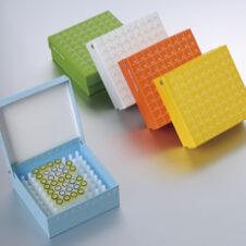 Congelación cajas de fibra para congelador de colores