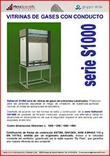 Vitrina de Gases S1000